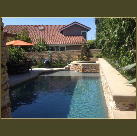 Orange county swimming pools resurface for Pool design orange county ca
