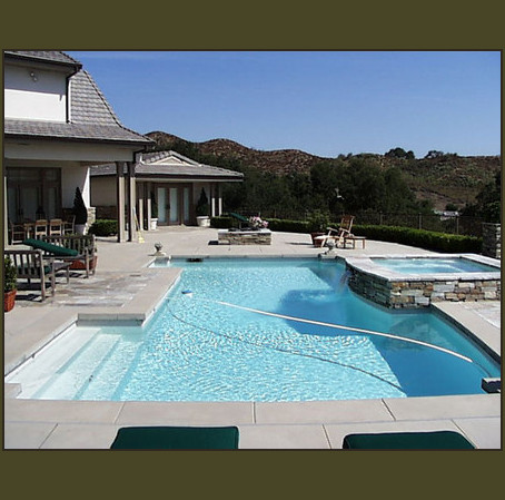 Swimming Pools And Spas In Orange County Ca Snyder And Associates Landscape Construction